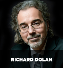 """It's Hovering and it's NOT AN AIRCRAFT."" Richard Dolan Intelligent Disclosure Richarddolan1"